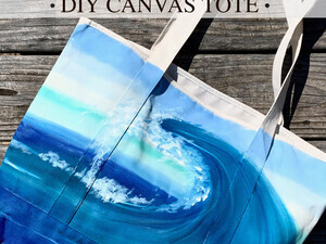 DIY Canvas Tote Take Home Kit