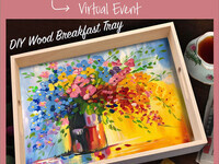 Mother's Day Breakfast Tray Virtual Class w/Curbside Pick Up Supplies