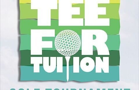 Tee for tuition logo for 9th annual tournament