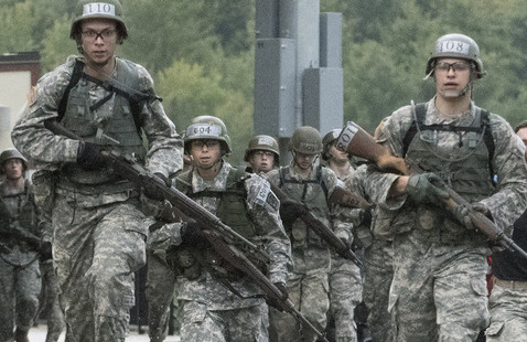 Fall 2020 semester ROTC MIL labs begins