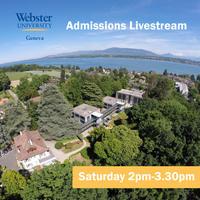 Bachelor Admissions Information Livestream