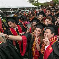 #USC Grad #2020Trojan