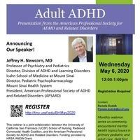 Free Webinar:  Adult ADHD