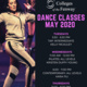 COF Dance Classes May 2020 flyer