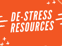 De-Stress - Don't Sleep on Finals!