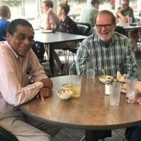 UAB Faculty Dining in the Commons on the Green