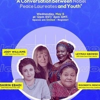 A conversation between Nobel Peace Laureates and Youth