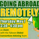 Going Abroad Remotely