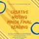 Creative Writing Minor Graduate Reading
