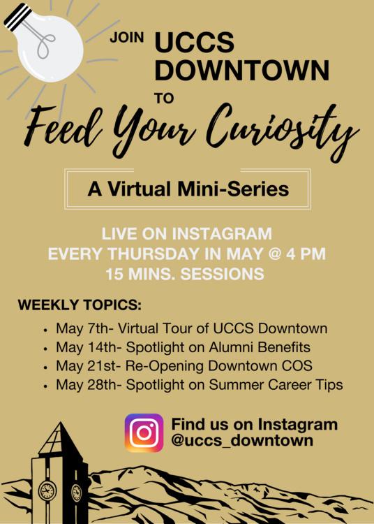 Feed Your Curiosity- A Virtual Mini-Series