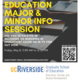 GSOE Education Major/Minor Information Session