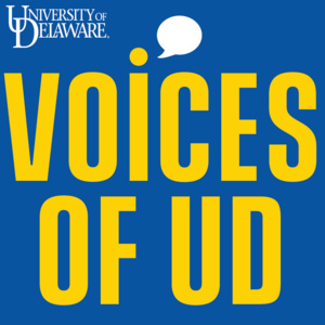 University of Delaware Voices of UD logo