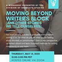 Remy Franklin: Moving Beyond Writer Block