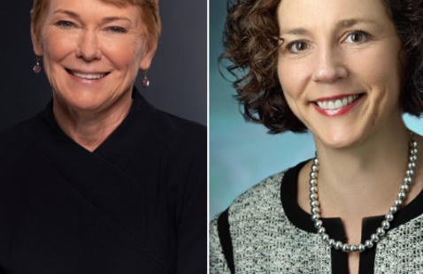 A Conversation with President Sarah Mangelsdorf and Chief Nursing Executive Karen Davis