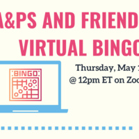 A&PS and Friends Virtual Bingo