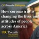 Dornsife Dialogues: How coronavirus is changing the lives and attitudes of people across America