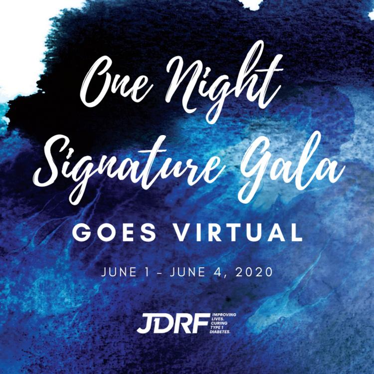 JDRF One Night Virtual Gala