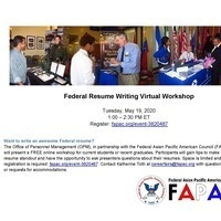 How to Write A Federal Resume for Students and Recent Graduates