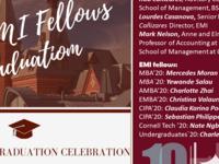2020 EMI Fellows Graduation Celebration