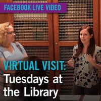 Virtual Visit: Tuesdays at the Library