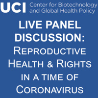 CBGHP Live Panel Discussion: Reproductive Health & Rights in a Time of Coronavirus