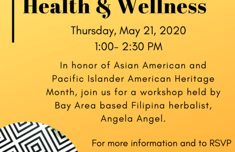 APA Heritage Month: Herbal Medicine for Health & Wellbeing in COVID- 19