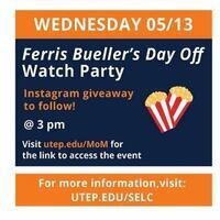 Ferris Bueller's Day Off Watch Party