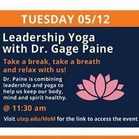 Leadership Yoga: Staying Grounded in Uncertain Times