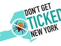 Don't Get Ticked NY! logo. Visit us at: https://dontgettickedny.org