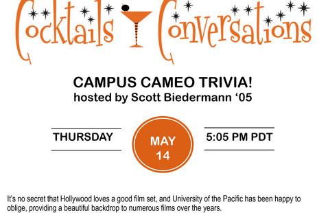 Cocktails & Conversations: Campus Cameo Trivia