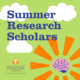 Summer Research Scholars: Apply for the National Science Foundation Graduate Research Fellowships Program (NSF GRFP) Seminar