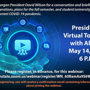President's Virtual Town Hall with Alumni