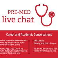 PreMed Live Chats - Career & Academics