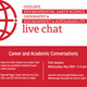 GLG/GEO/IES Live Career Chats