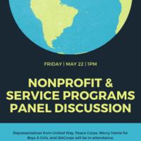 Nonprofit & Service Programs Panel Discussion