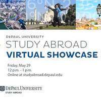 STUDY ABROAD VIRTUAL SHOWCASE for December 2020, Winter 2021 & Winter-Spring 2021 Programs