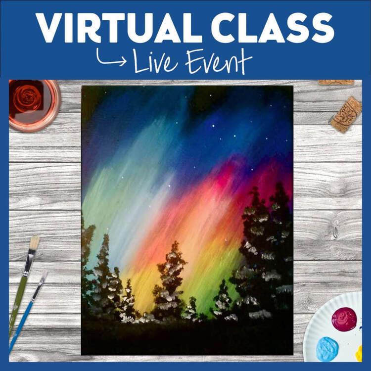 Aurora Night Live Virtual Class, 2 Supply Options