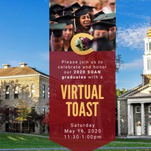 SOAN 2020 Graduates Virtual Toast