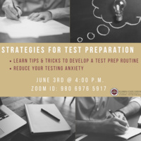 Strategies for Test Preparation