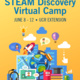 STEAM Discovery Virtual Camp for Grades 3-6