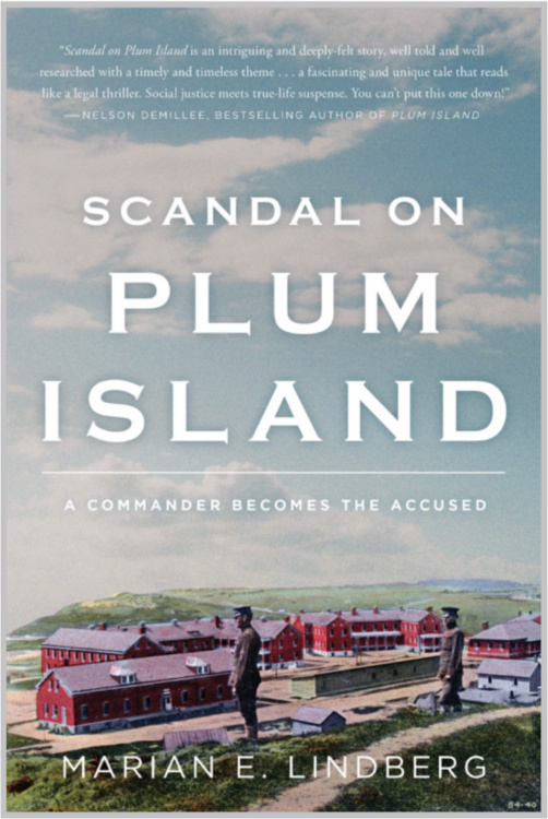 A Visit with Marian Lindberg, Author of Scandal on Plum Island: A Commander Becomes the Accused