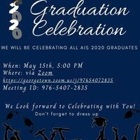 Virtual AIS Graduation Celebration