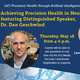 Achieving Precision Health in Neuropsychiatry Online Lecture Program featuring Distinguished Speaker,  Dr. Dan Geschwind