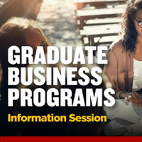 Graduate Business Programs Virtual Info Session