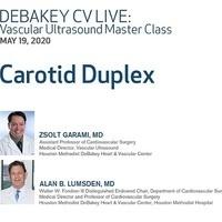 DeBakey CV Live: Vascular Ultrasound Master Class – Carotid Duplex
