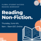 GSS Reading Workshop: Reading Non-Fiction