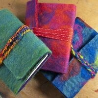 VIRTUAL Felt Journal Cover Workshop W/The Hearst Center