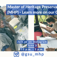 Master of Heritage Preservation Q & A Event