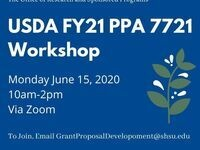 ORSP's USDA FY21 PPA 7721 Workshop