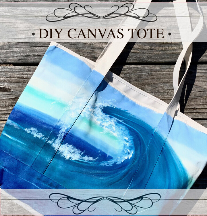 DIY Canvas Tote Bag Take Home Kit!